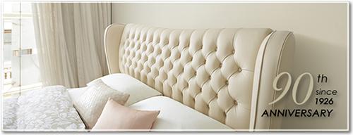 日本初のベッドメーカー「日本ベッド」